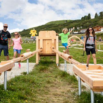 Holzkugelbahn | © Zillertal Arena