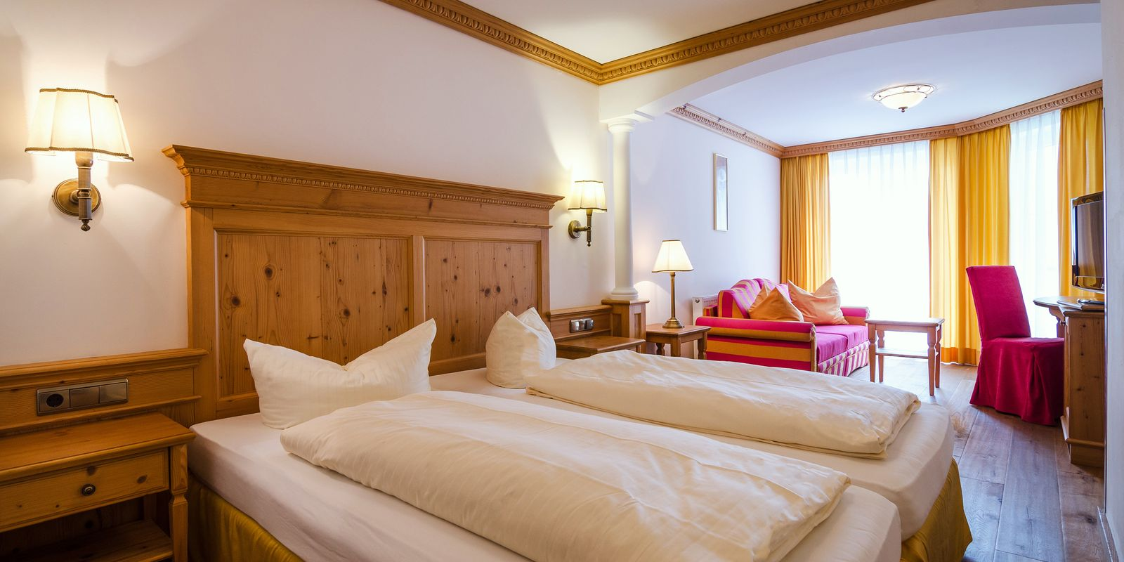 Junior Suite im Hotel Central Gerlos