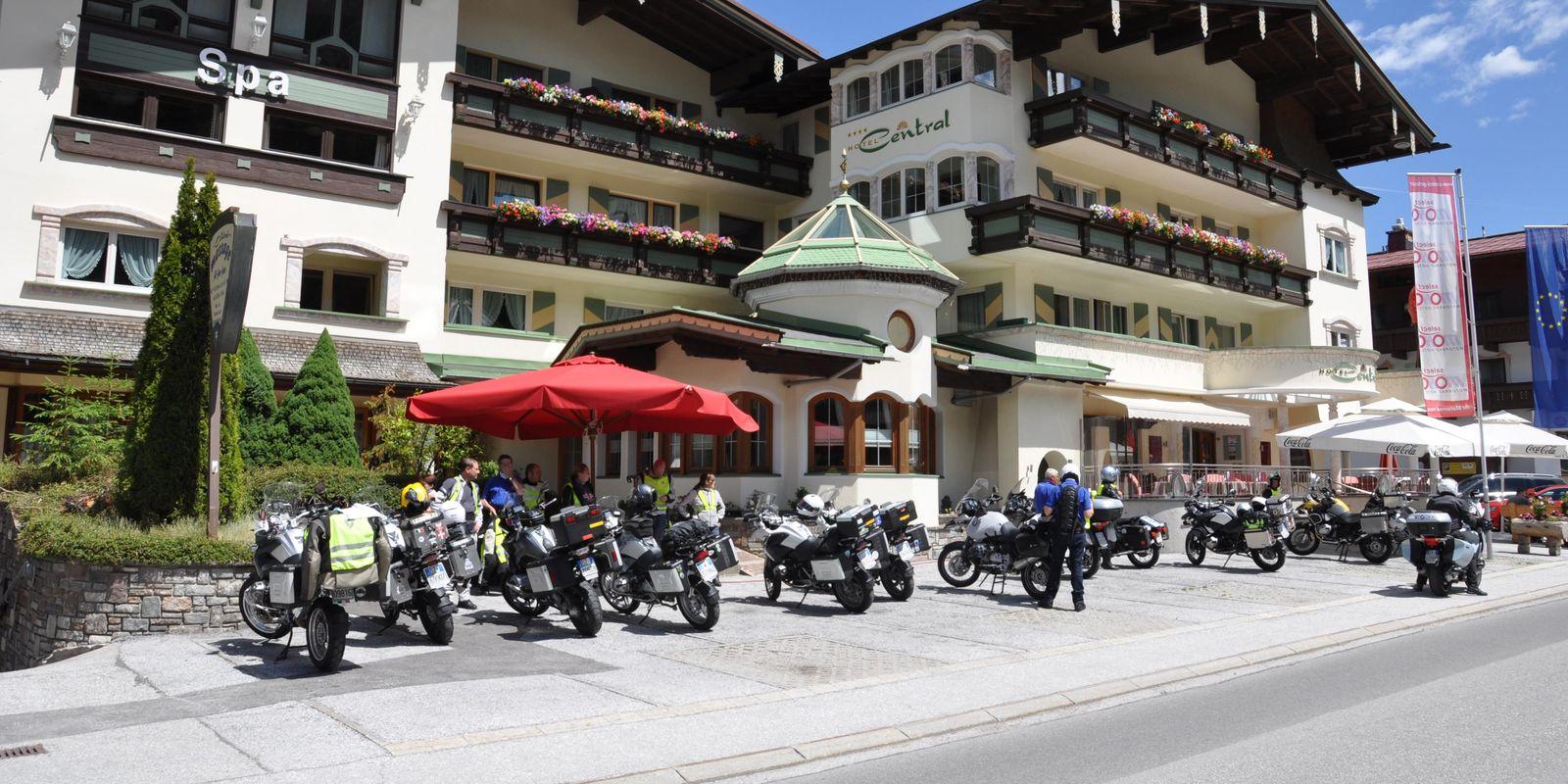 Motorradfahren in der Gerlos