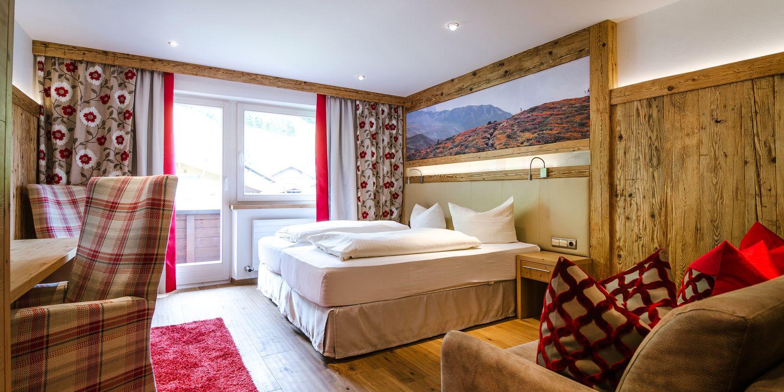 Superior Zimmer im Hotel Central Gerlos