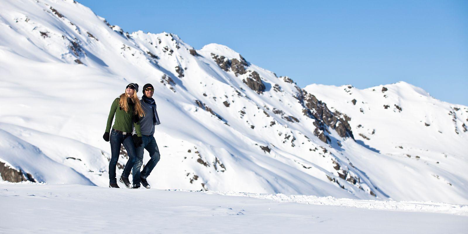 Natur genießen beim Winterwandern | © Zillertal Arena