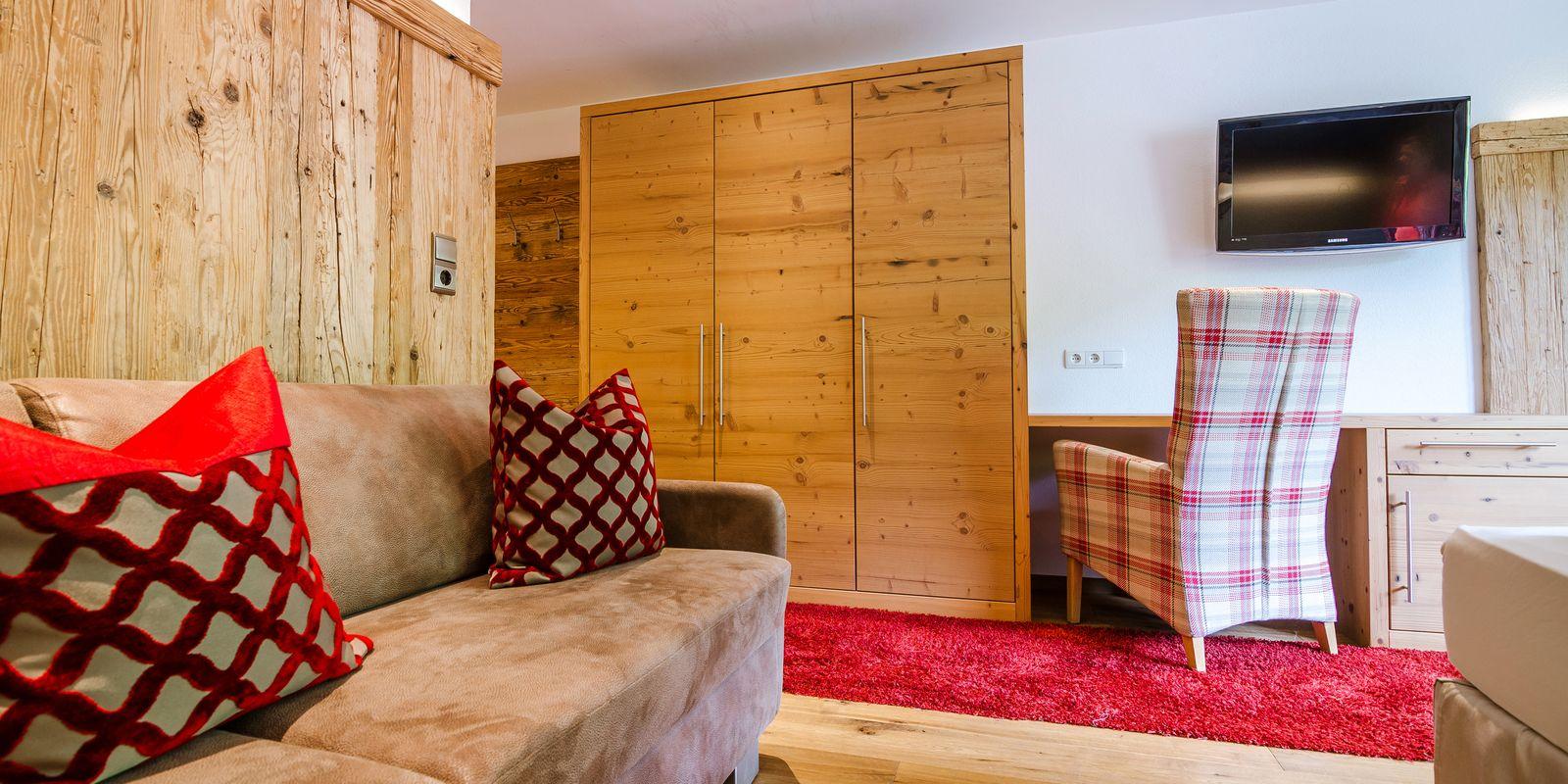Superior Zimmer für 2 bis 4 Personen