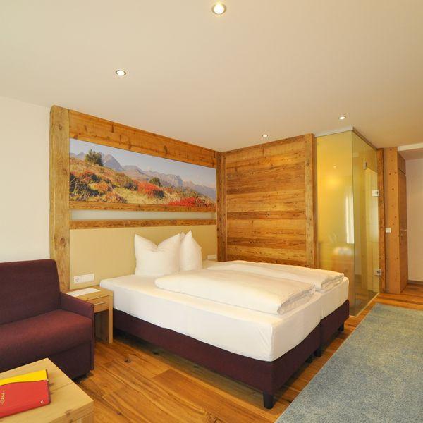 • ca. 36 m² • Kingsize tweepersoonsbed  • Slaapbank als volwaardig bed voor 1 persoon • Balkon