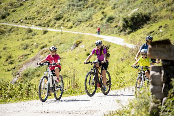 Family Bike | © Zillertal Arena